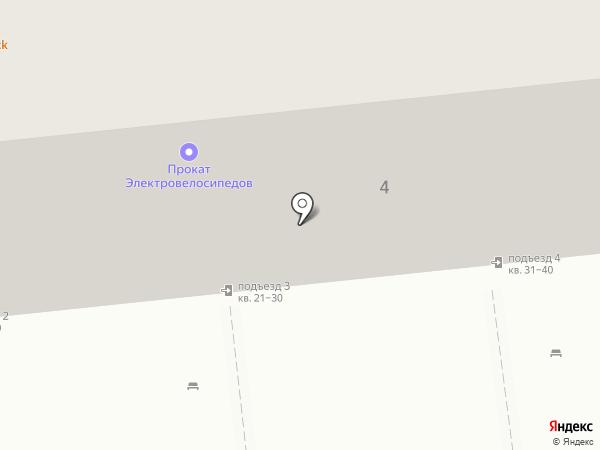 Своя колея на карте Омска