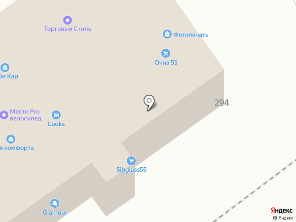 Автомагазин автозапчастей для грузовиков Howo, Shaanxi, Dongfeng на карте Омска