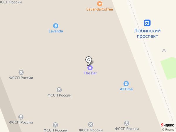 Огонек на карте Омска
