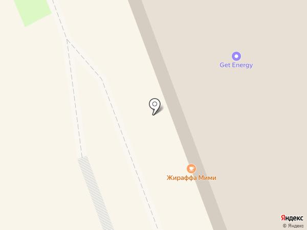 Ласёна на карте Омска