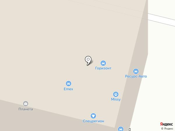 Центр интерьера на карте Сургута
