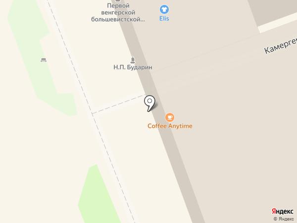 Место Про Тесто на карте Омска