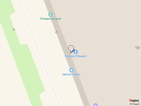 Открытый Дом на карте Омска