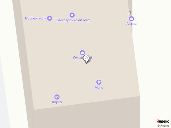 Строй Мастер на карте Омска