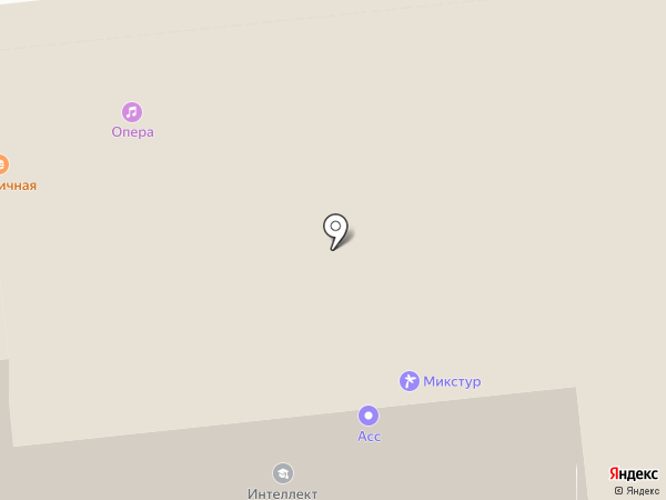 Опера на карте Омска