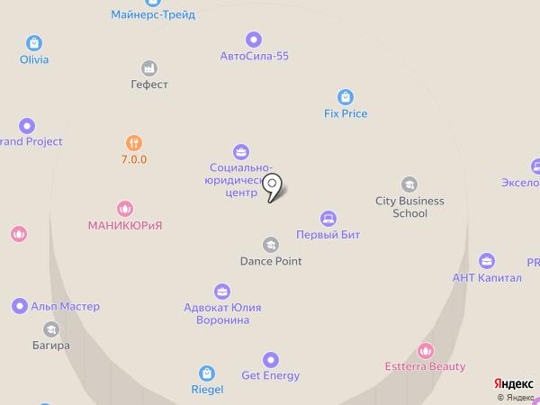 МАРС на карте Омска