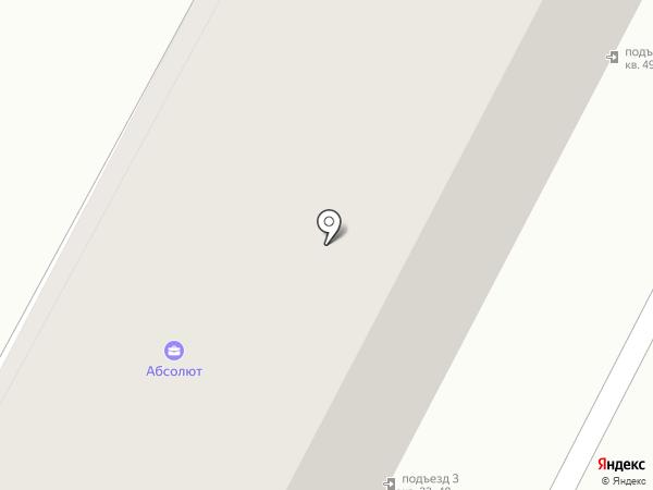 На Цепи на карте Омска