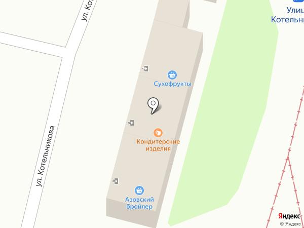 Магазин деревенских молочных продуктов на карте Омска