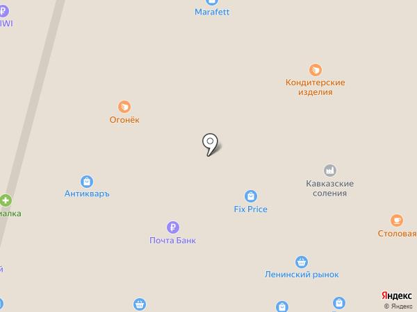 Мастерская по изготовлению ключей и заточке инструментов на карте Омска