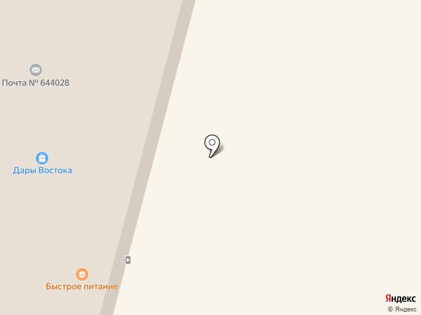 Арина на карте Омска