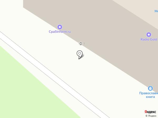 Сиброст на карте Омска