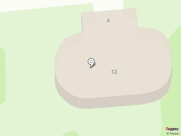 Данар на карте Омска