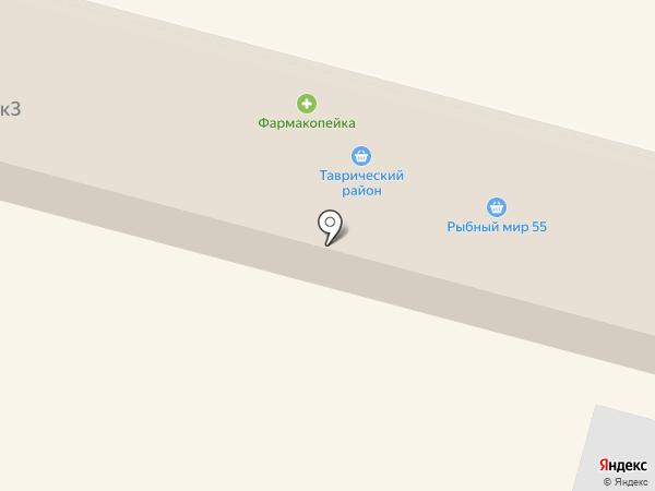 Зеленая ферма на карте Омска
