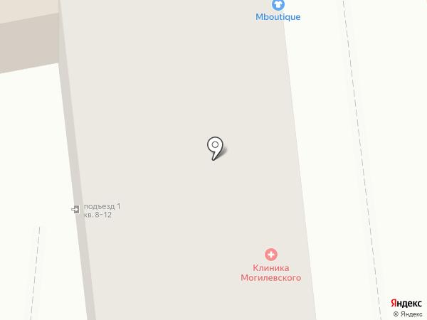 Бутерbrot на карте Омска