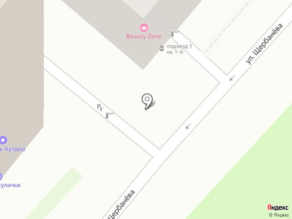 Калитеро на карте Омска
