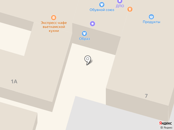 Учебный комбинат автомобильного транспорта, АНО ДПО на карте Омска