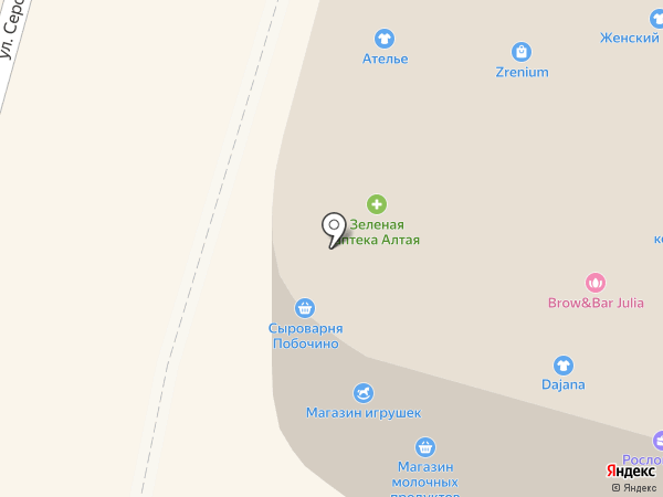 Владимирская фабрика дверей на карте Омска