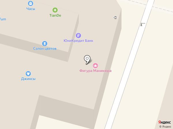 Салон женской одежды на карте Омска