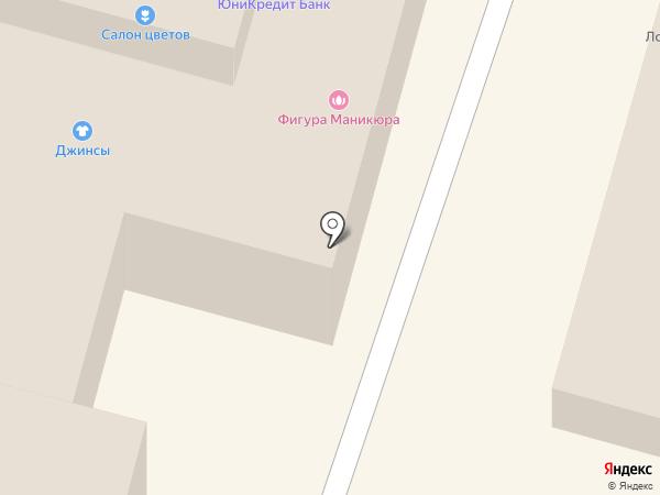 Киоск по продаже хлебобулочных изделий на карте Омска