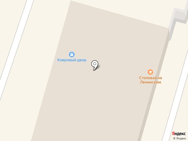 Киоск по ремонту обуви на карте Омска