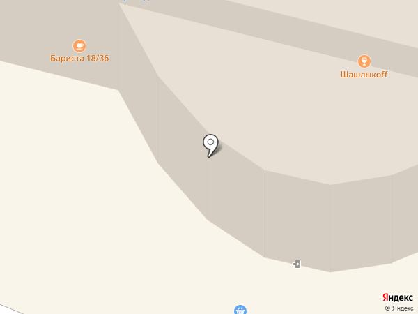 Ригла на карте Сургута