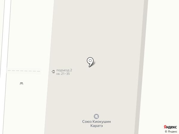 Хмельная шайба на карте Омска