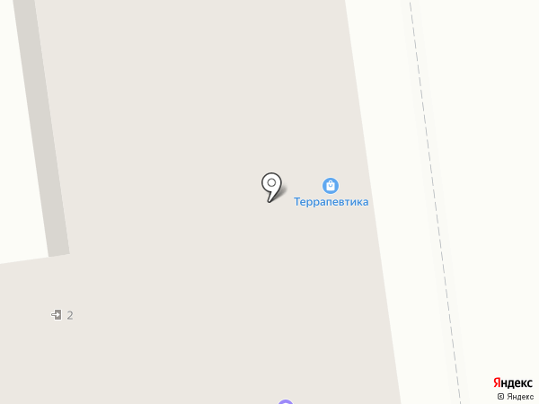 Террапевтика на карте Омска