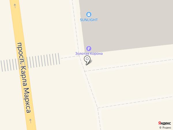 ДоброДеньги на карте Омска