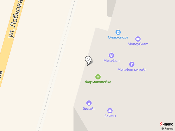 Мегафон ритейл на карте Омска