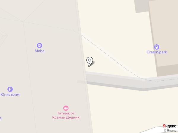 КанцПарк на карте Омска