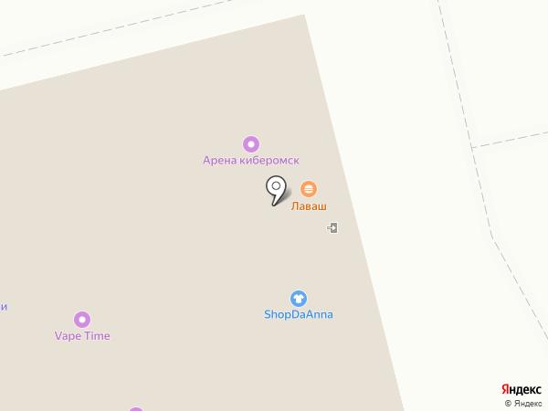 iMaster на карте Омска