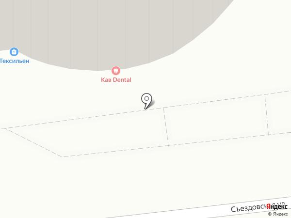 КАВ на карте Омска