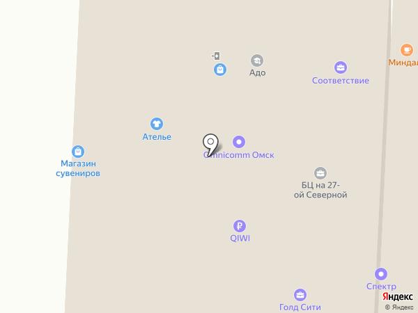 Восток Тренд на карте Омска