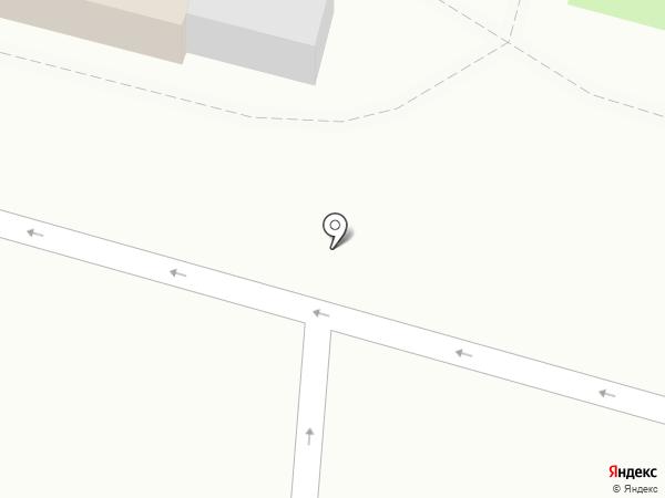 Апельсин на карте Омска
