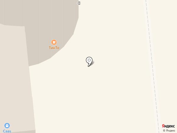 Инфинити на карте Омска