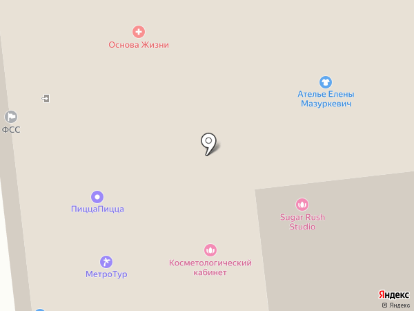 СибирьСити на карте Омска