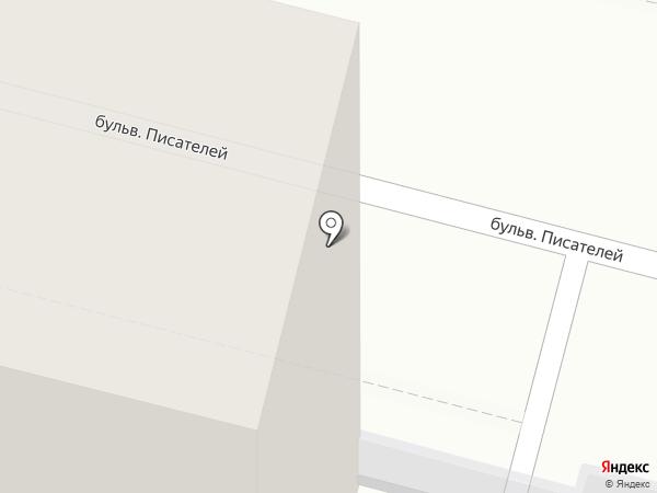 Салон-парикмахерская на карте Сургута
