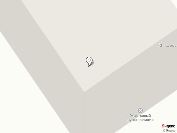 Участковый пункт полиции №5 на карте Сургута