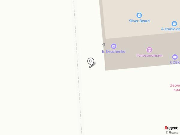 Имитация на карте Омска