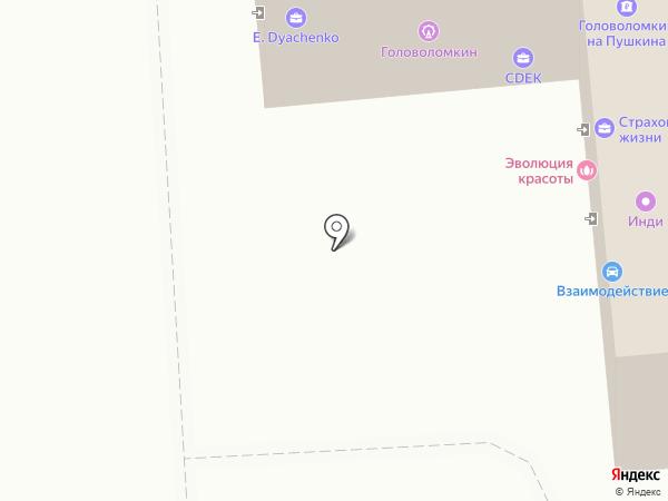 ЖИВОЕ ОКУНЕВО на карте Омска