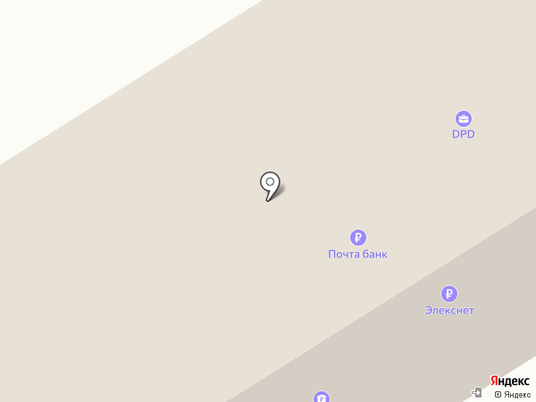 Почтовое отделение №8 на карте Сургута