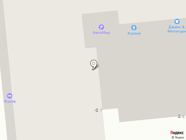 Азалия на карте Омска
