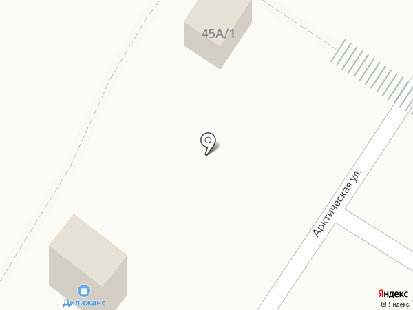 Абсолют АВТО на карте Омска