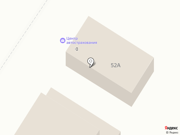 Авто-страховка на карте Омска