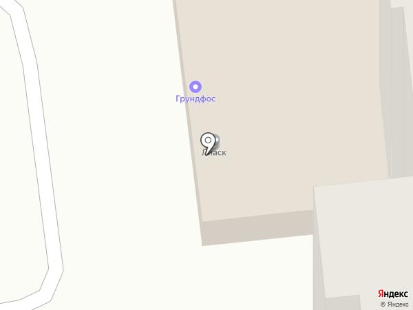 ЮТА на карте Омска