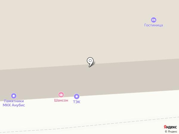 Автомагазин-склад на карте Омска