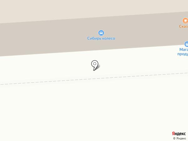 Ампер и Вольт на карте Омска