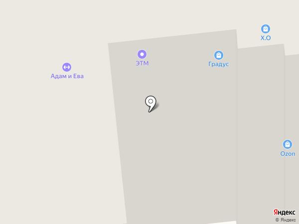 ЭТМ на карте Омска