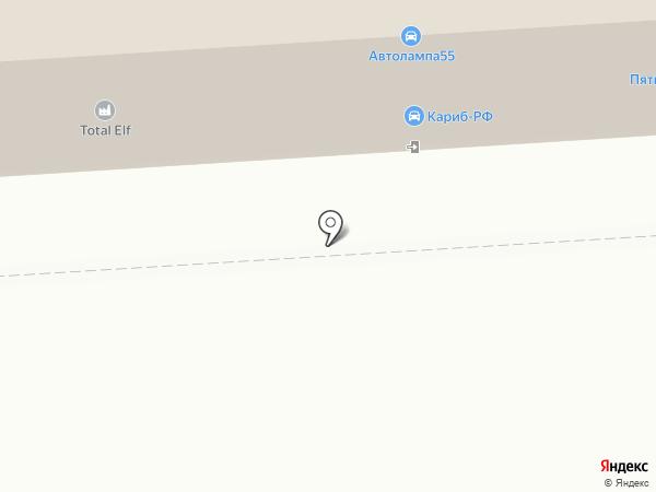 Вазовский на карте Омска