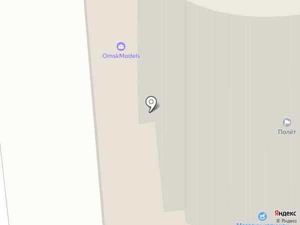 ЛанСис на карте Омска